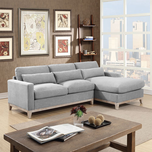 grey sofa sectional