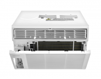 back of air conditioner