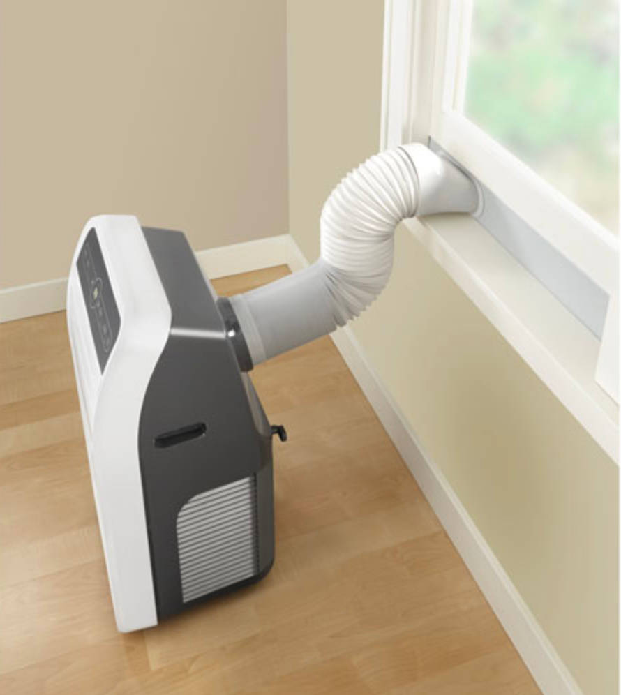 venting a portable air conditioner