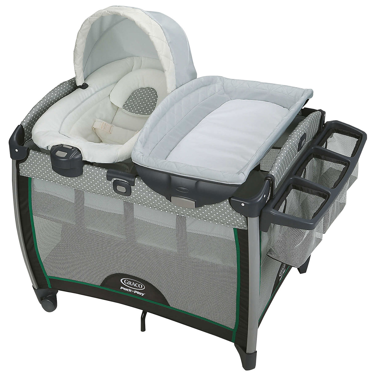 baby essentials - graco pack n play