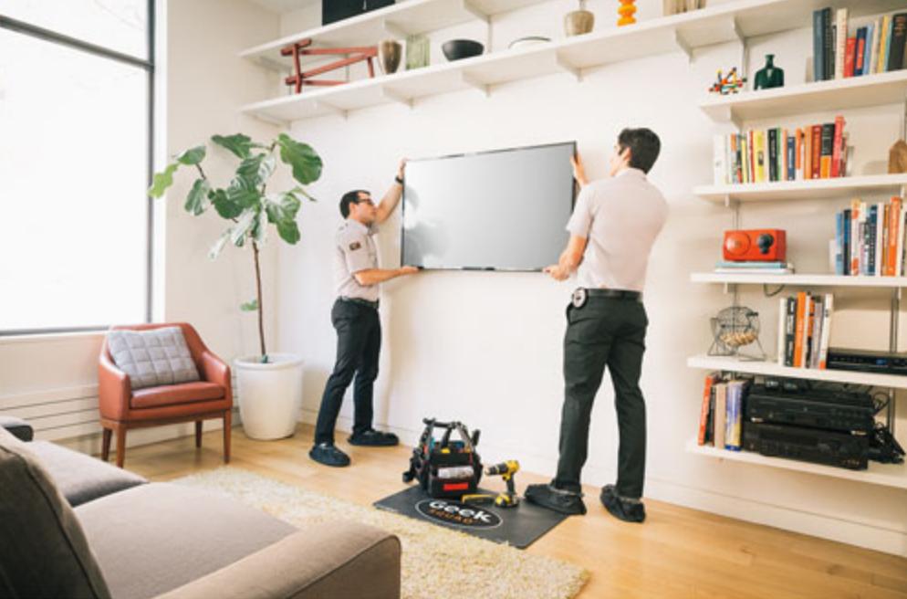 geek squad, tv, wall mount, installation