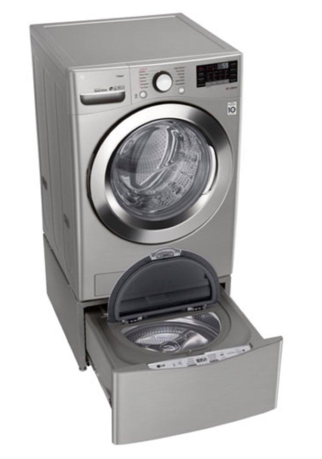 L'évolution de la laveuse et de la sécheuse