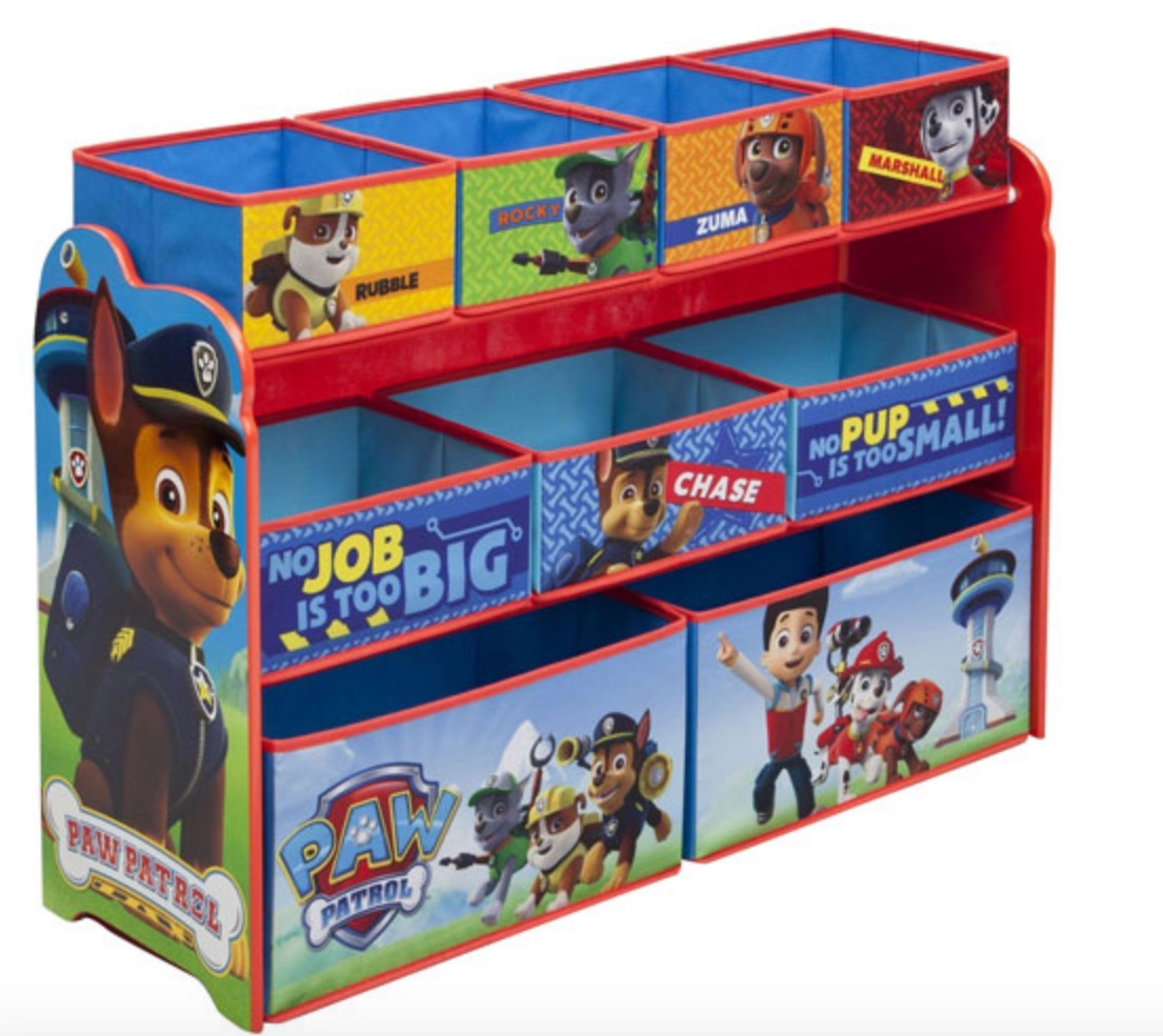 Paw patrol toy box