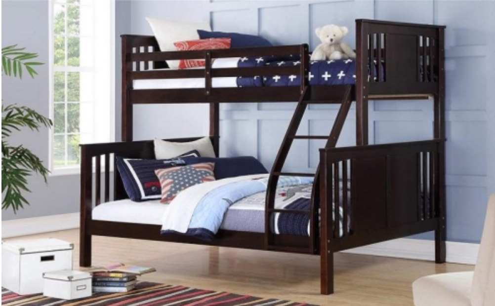 bunk beds kid's bedroom renovation