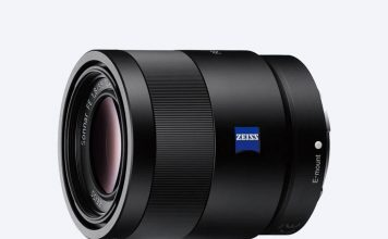 A photo of the Sony Sonnar T FE 55mm F1.8 ZA