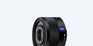 A photo of the Sony Sonnar T FE 35mm F2 8 ZA