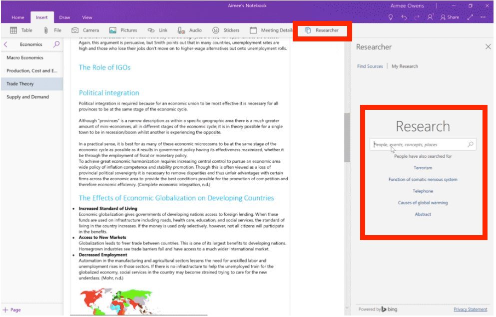 Get The Latest Microsoft Office  Features New For   Best   That Leverages Bing To Help Find And Incorporate Reliable Sources Such  As National Health Centres And Content For An Essay Project Or School  Paper