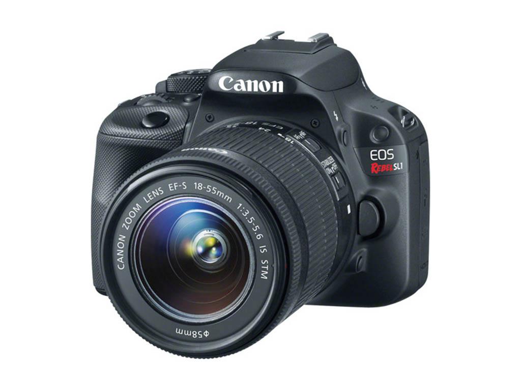 A photo of the Canon EOS Rebel SL1