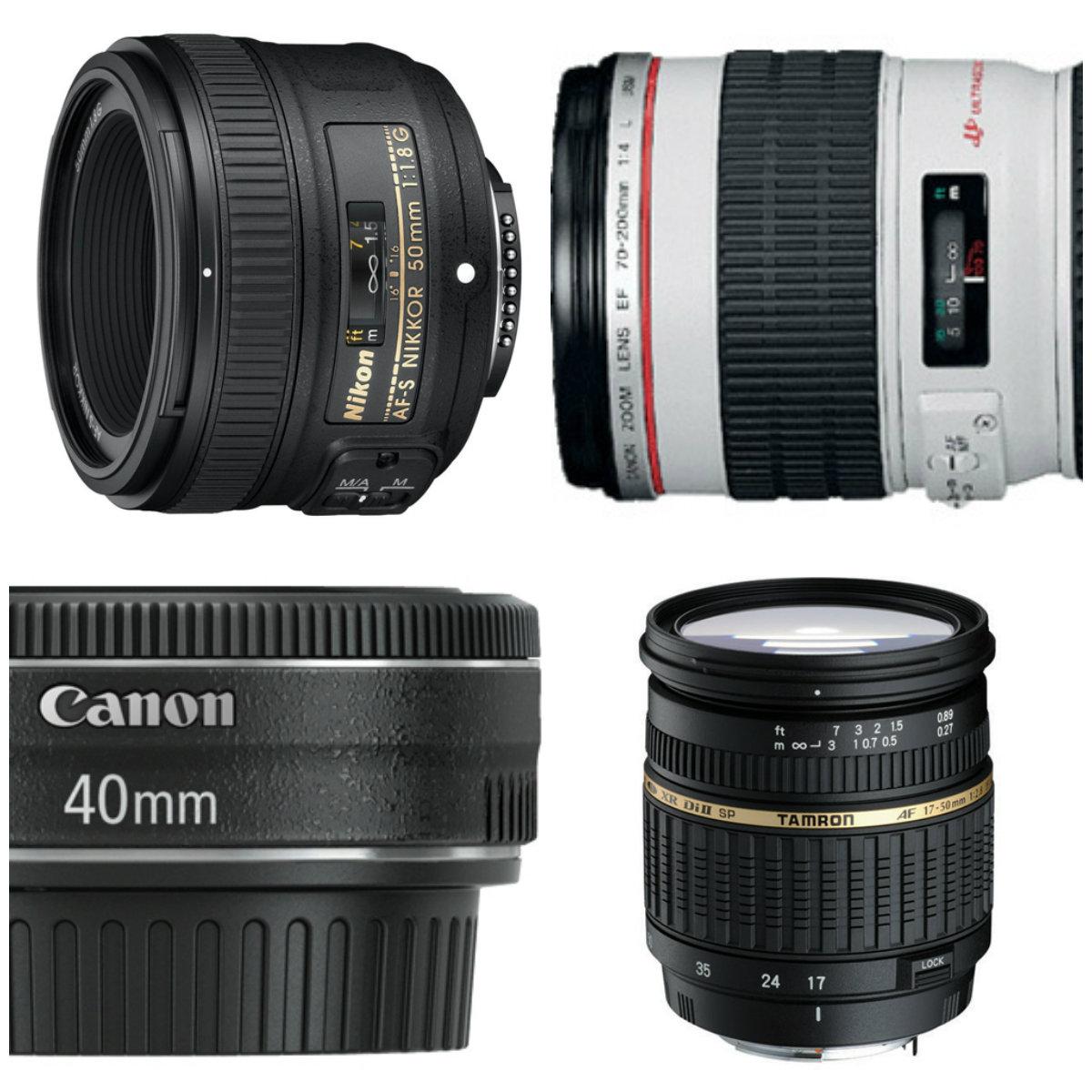 Choosing a good lens for a camera