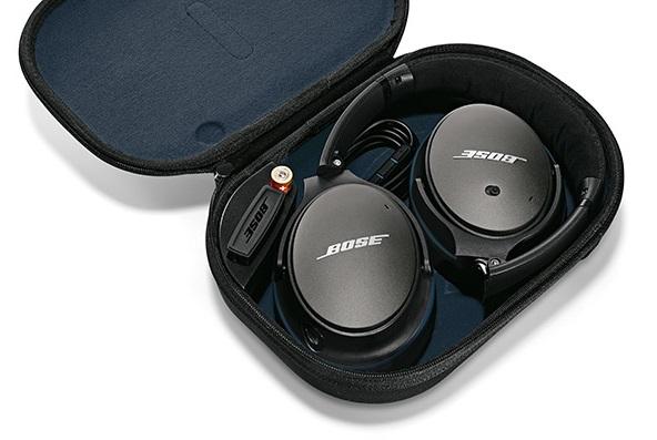 Bose QC25 Black in Case