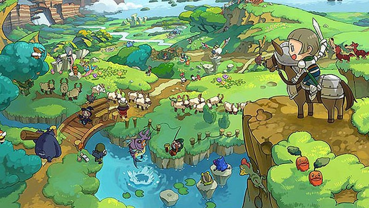 Fantasy Life World Map.Review Fantasy Life Charms 12 Times Over On The Nintendo 3ds Best