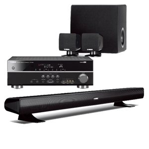 Yamaha sound bar hook up