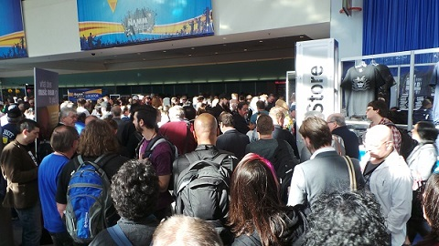 Crowds at NAMM