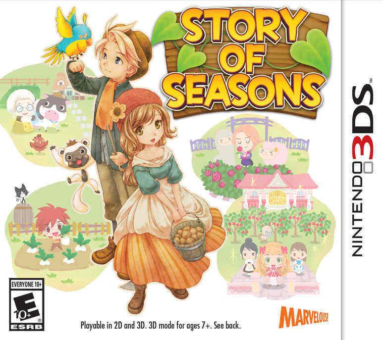 Story of Seasons Box Art