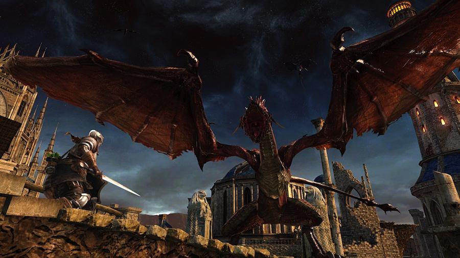 Dark Souls II Scholar of the First Sin Dragon.jpg