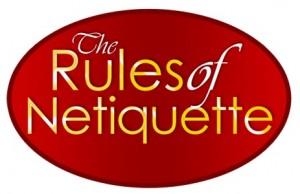 Online communication etiquette