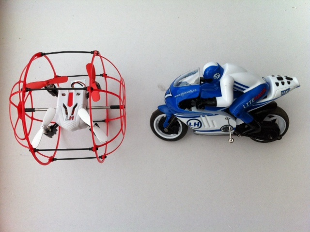 Dual Rc Review Litehawk Apex Motorcycle Amp High Roller