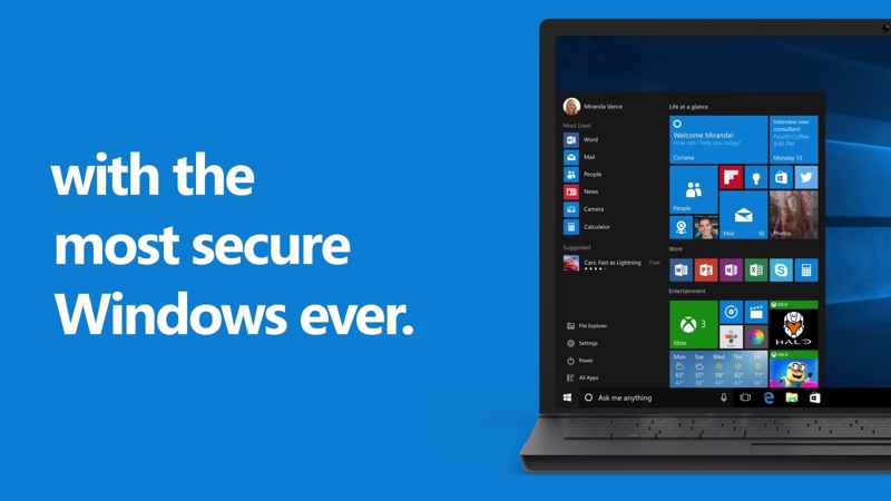 Windows 10 New Security Features Make Pcs Safer For Users