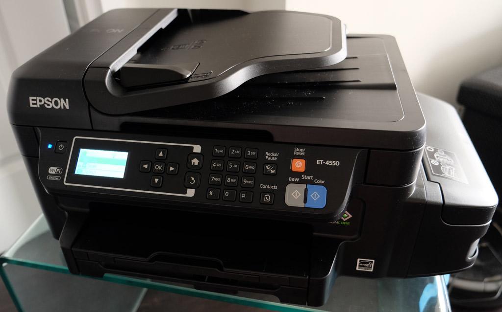 Review: Epson WorkForce ET-4550 EcoTank All-in-One Printer