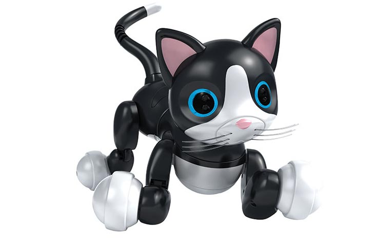Robot Cat Toy Zoomer