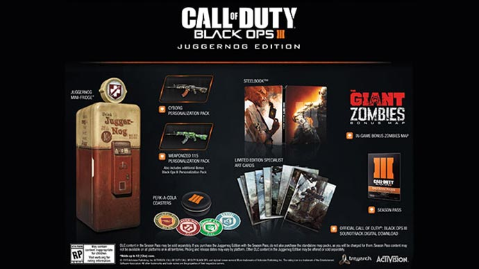 Pre Order Call Of Duty Black Ops 3 To Win The Chance To