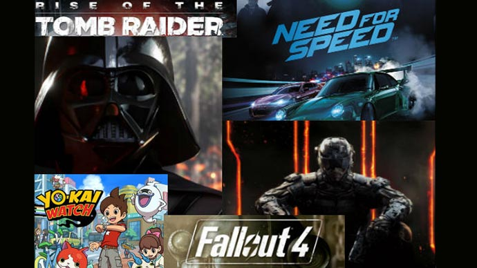 video games coming out before christmas 2018