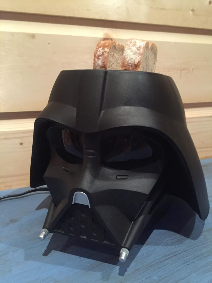 Review The Toast Will Be With You With A Star Wars Darth