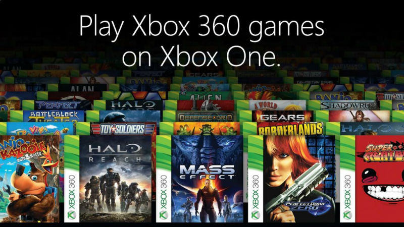 Xbox One backward compatibility has arrived: Here's how it