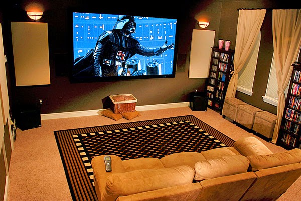 how to set up home theatre