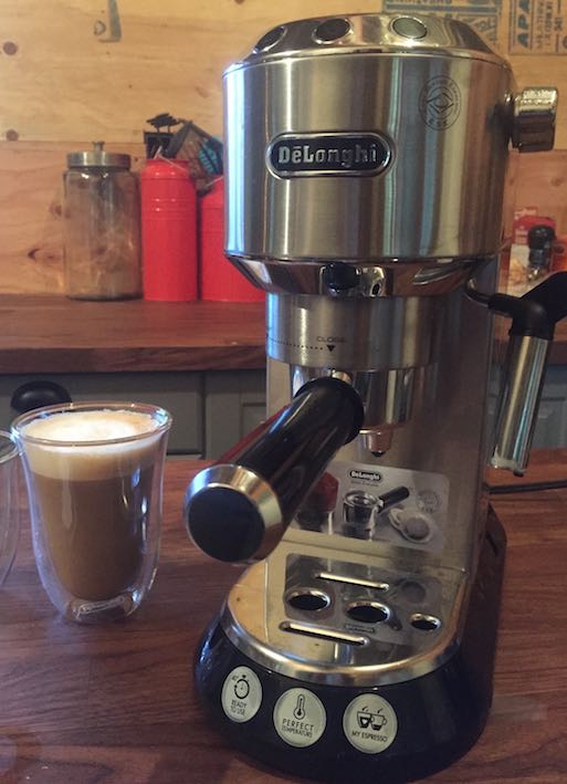 The De Longhi Dedica Pump Espresso Machine Gives You The