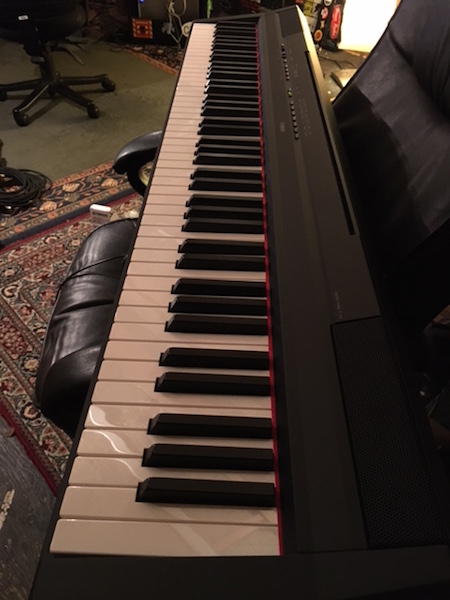 Yamaha P Comparing To Acoustic Piano