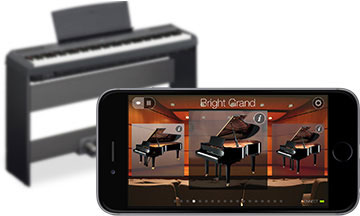 review yamaha p 115b digital piano best buy blog. Black Bedroom Furniture Sets. Home Design Ideas