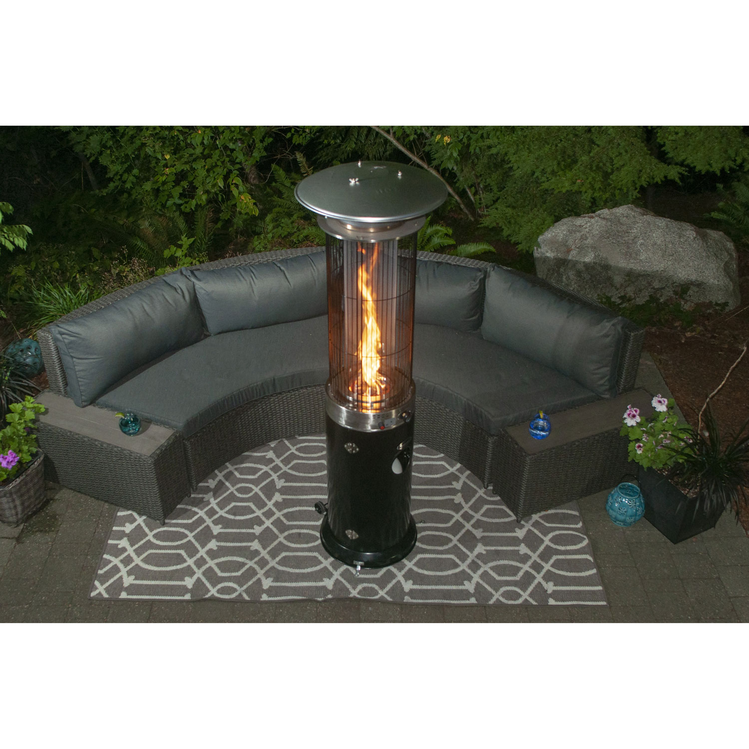 freestanding patio heater