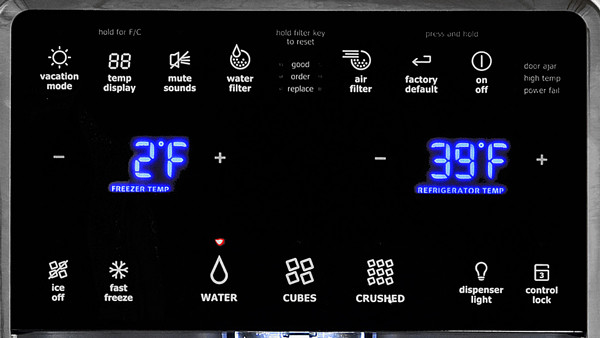 fridge temperature