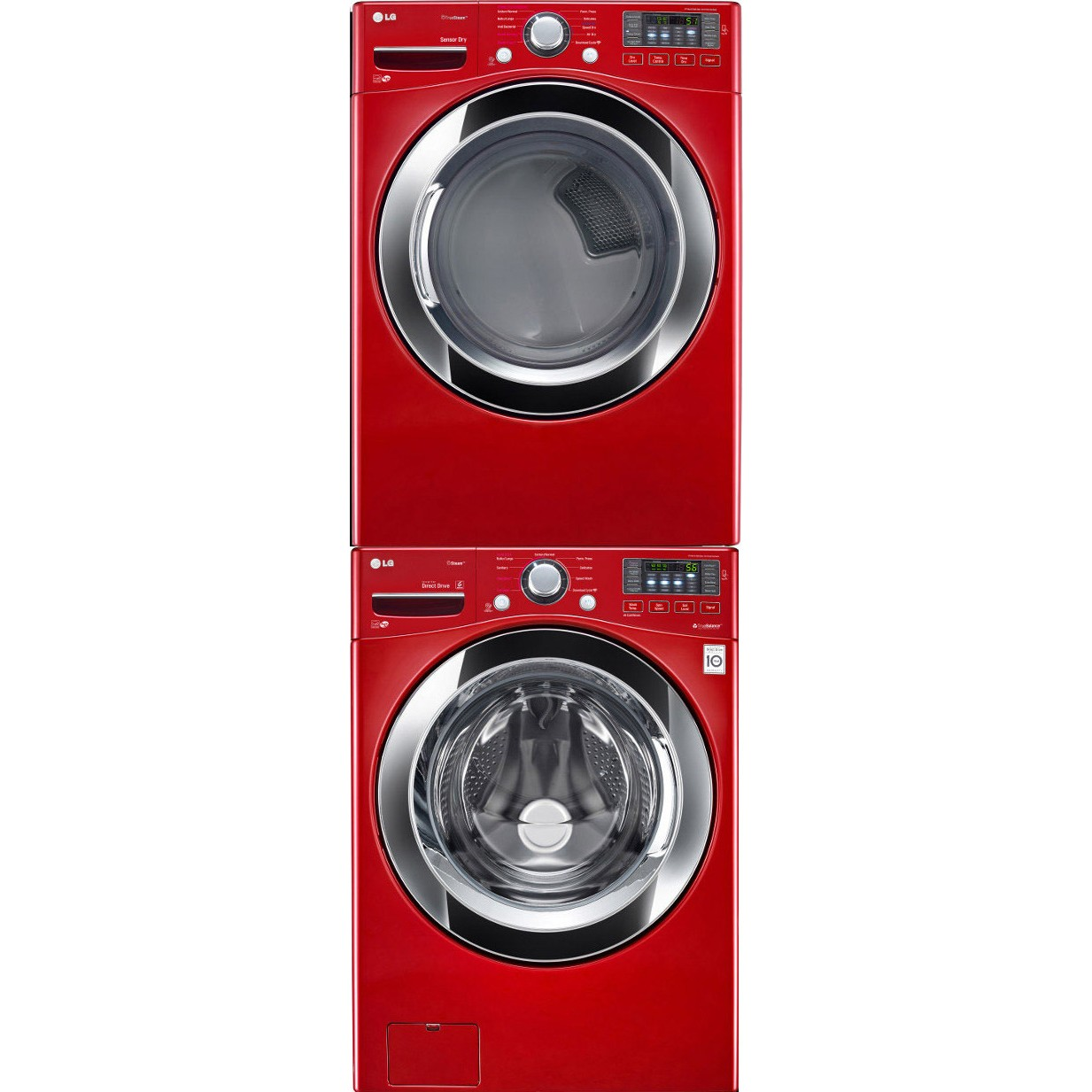 lg stacking washer dryer