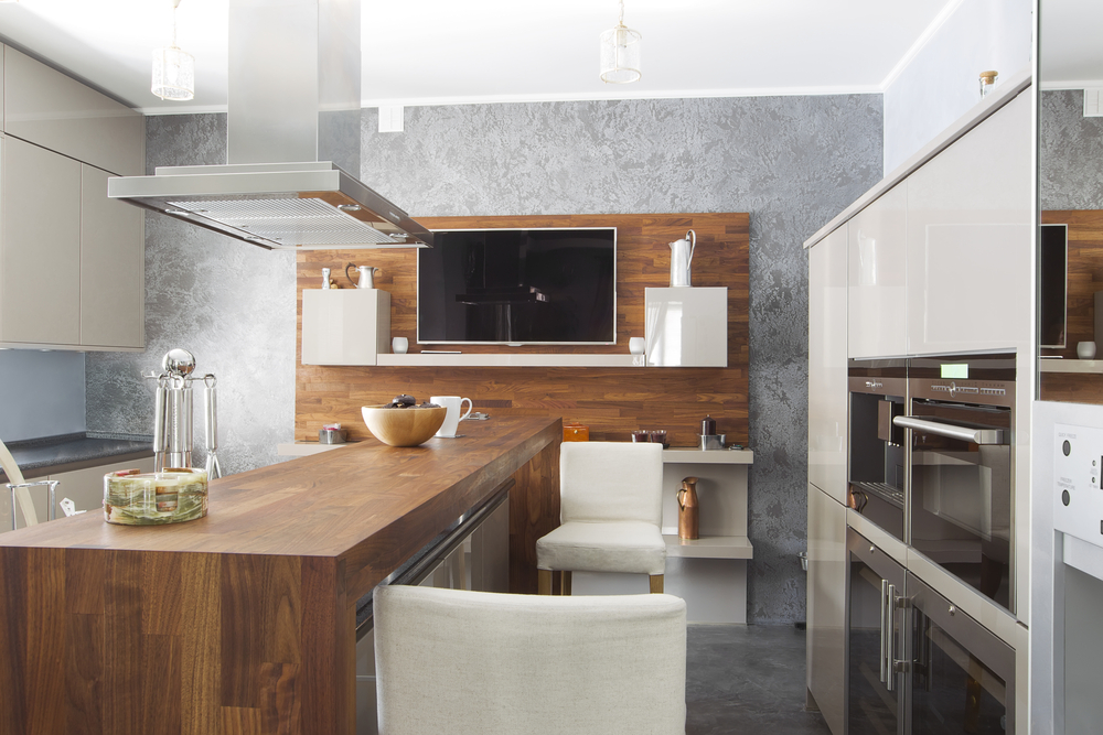 ideal tv and sound system appliances for the kitchen
