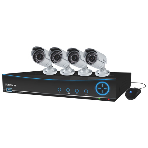 how to delete security camera footage swann