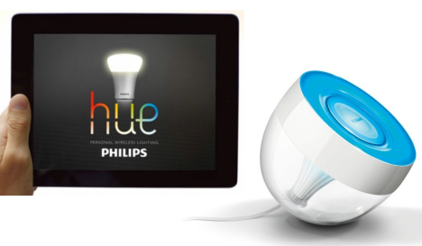 philips hue lux and iris smart lighting best buy blog. Black Bedroom Furniture Sets. Home Design Ideas