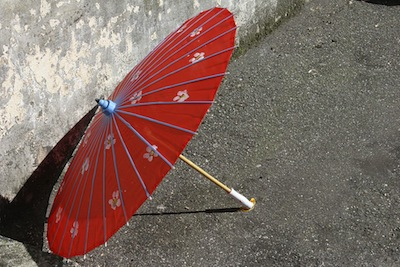 history of umbrellas - parasol