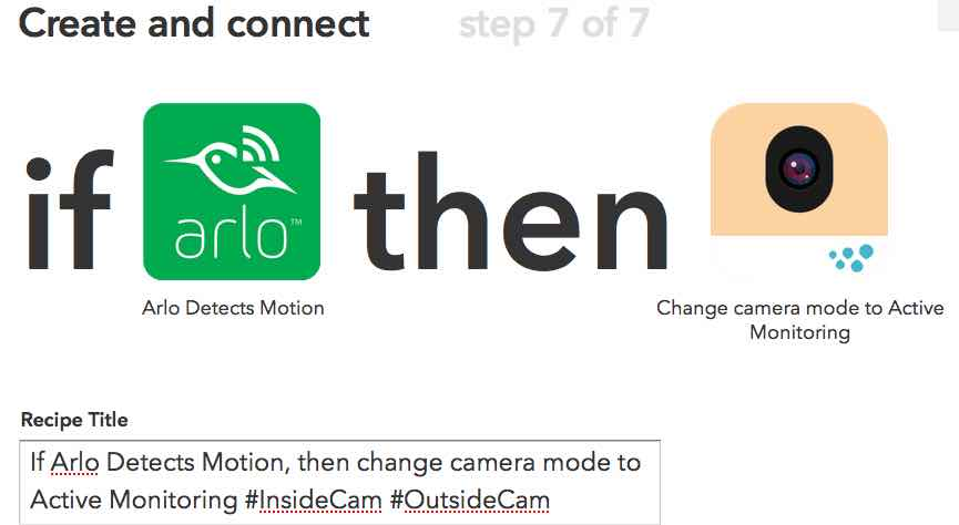 Arlo and IFTTT pair up to create the most efficient smart