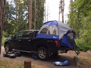 Taking Napier Outdoors Truck Tent On The Road For Review Best Buy Blog