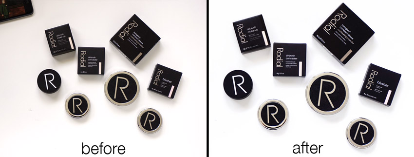 Rodial before and after