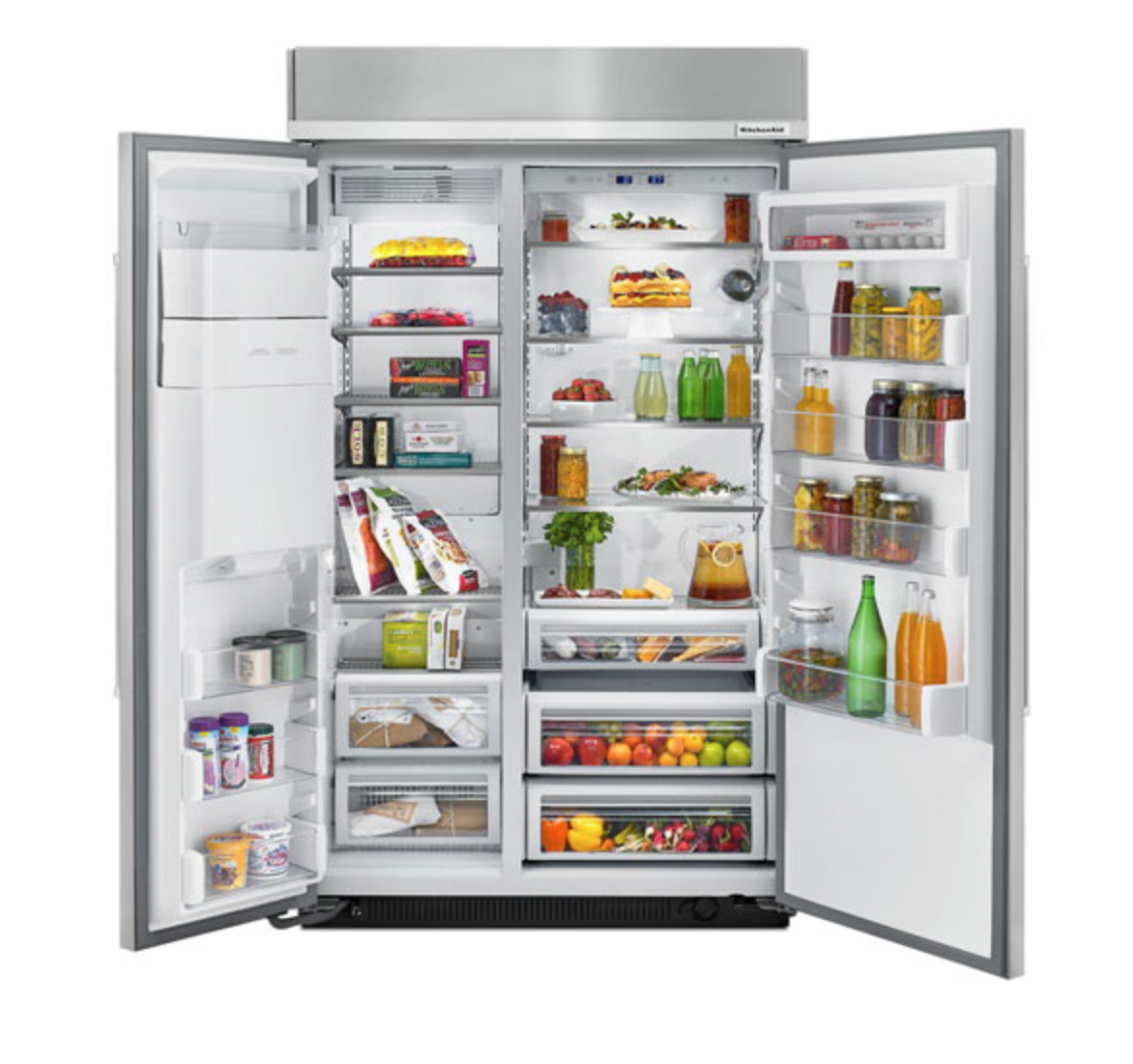 Side by Side freezers