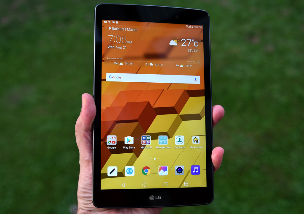Review Lg G Pad Iii Sticks To The Basics Best Buy Blog