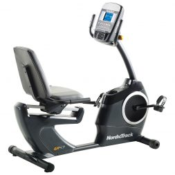 NordiTrack bike for a great cardio workout