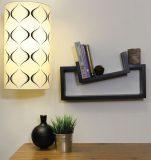 nexxt slant 2 shelf wall shelf