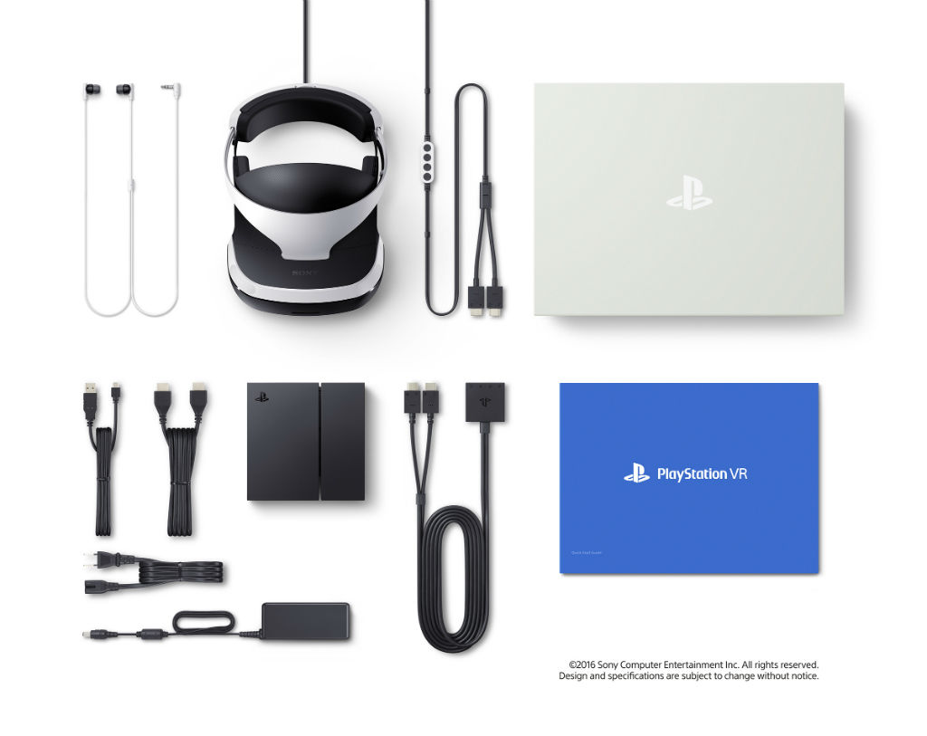 PlayStation VR included in the box