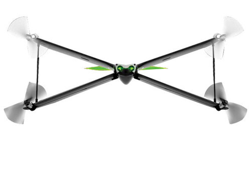 Review Parrot Swing Quadcopter Mini Drone With Camera Controller