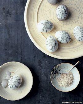 spider eggs martha stewart