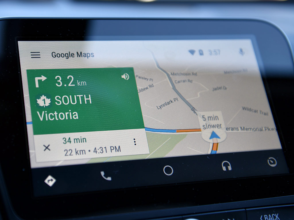 android-auto-google-maps